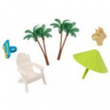 Beach chair and Umbrella DecoPac