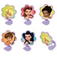 Disney Fairies Friends Twist Cupcake Rings Decorings by Decopac