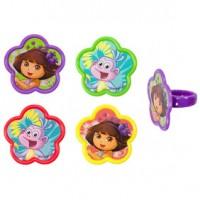 Dora the Explorer Springtime Friends Cupcake Rings Decoring by Decopac