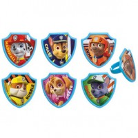 Cupcake Rings Paw Patrol DecoRing by Decopac