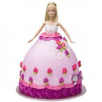 Barbie Doll Signature Cake DecoSet, Caucasian by Decopac
