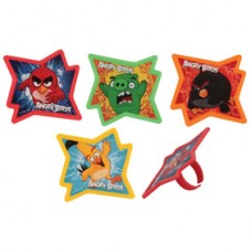 Cupcake Rings Angry Birds Decorings by Decopac