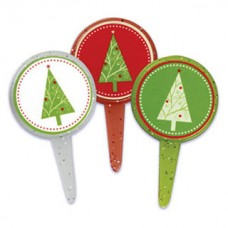 Assorted Christmas Trees Decopics by Decopac