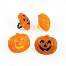 Cupcakes Rings Jack-O-Lantern Decoring by Decopac