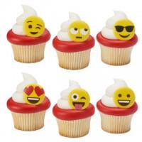 Cupcake Rings Emojis Decorings by Decopac