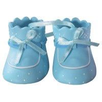 Baby Booties Blue DecoSet by DecoPac