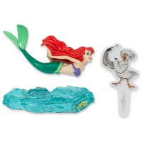 Ariel and Scuttle DecoSet Cake Topper by Decopac