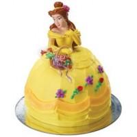 Princess Belle doll cake pic DecoPac