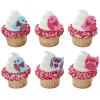 Love Birds & Owls Cupcake Rings Decoring by Decopac