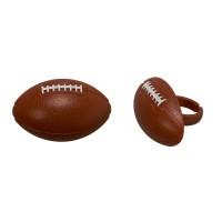 Cupcake Rings Football Decorings by Decopac