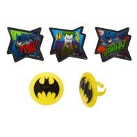 Bagues Batman - Pow et Whooshhh de DecoPac