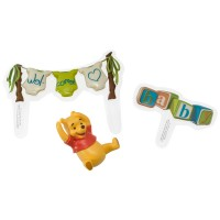 Winnie the Pooh Welcome Baby DecoSet by DecoPac