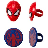 Cupcakes Ring Spider Man Decoring by Decopac