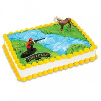 Field & Stream Deer Hunter Cake Kit by Bakery Crafts