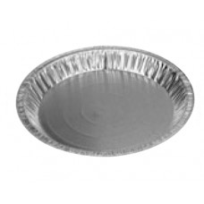 "Aluminum 9"" Slightly Deep Pie Plate"