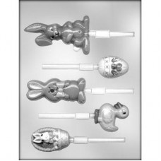 Sucker Chocolate Mold Easter Assortment by Ck Products