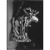 Chocolate Mold 3D Moose by Life of the Party