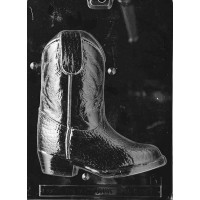Chocolate Mold 3D Cowboy Boot by Life of the Party