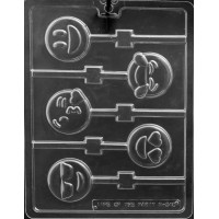 Sucker Chocolate Mold Emoji by Life of the Party