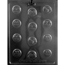 Chocolate Mold Bite Size Emoji by Life of the Party