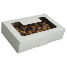 Cookie Box with Window - White
