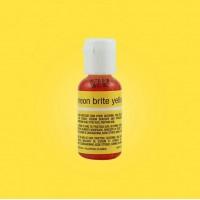 Liqua-Gel Food Coloring Neon Brite Yellow 20 g by ChefMaster