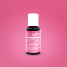 Liqua-Gel Food Coloring Neon Brite Pink 20 g by ChefMaster