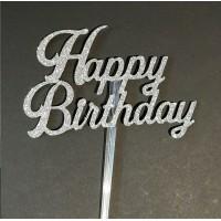Happy Birthday Cake Topper by Maman Gato & Cie