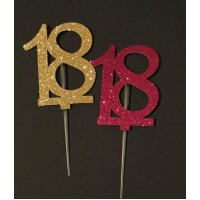 18 Cake Topper by Maman Gato & Cie
