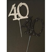 40 Cake Topper by Maman Gato & Cie