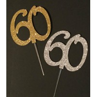 60 Cake Topper by Maman Gato & Cie