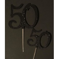 50 Cake Topper by Maman Gato & Cie