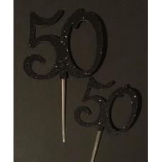 50 Cake Topper by Maman Gato & Cie