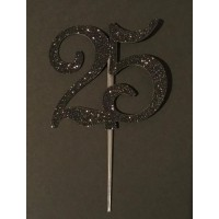 25 Cake Topper by Maman Gato & Cie