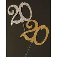 20 Cake Topper by Maman Gato & Cie