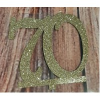 70 Cake Topper by Maman Gato & Cie
