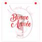 Stencil ''Bonne Année'' by Maman Gato & Cie