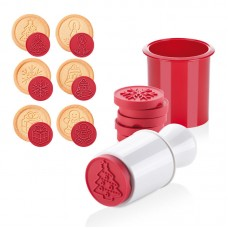 Cookie Cutter and Stamp Set - Christmas
