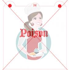 Stencil Poison by Maman Gato & Cie