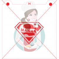 Stencil ''S Maman'' by Maman Gato & Cie