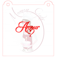 Stencil ''Amour'' by Maman Gato & Cie