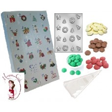 Activity Kit - Create Your Own Advent Calendar - Blue