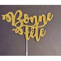 ''Bonne Fête'' - 2 - Cake Topper by Maman Gato & Cie