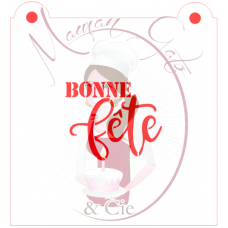 Stencil ''Bonne Fête'' by Maman Gato & Cie