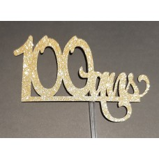 ''100 ans'' Cake Topper by Maman Gato & Cie