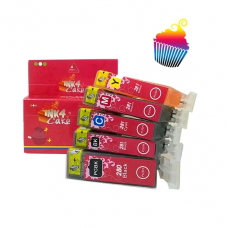 Canon Edible Ink Cartridges set 280/281 by Ink4cakes