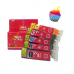 Canon Edible Ink Cartridges set 280/281 XXL by Ink4cakes