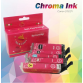 Canon Edible CHROMA Ink Cartridges set 270/271 XXL by Ink4cakes