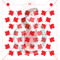Stencil Maple Leaf Pattern by Maman Gato & Cie