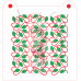 Stencil Pattern Holiday Lights 2 pieces by Maman Gato & Cie